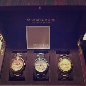 Michael Kors Watch Collector's Set
